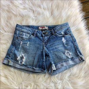 ~T five denim~ Jean shorts. Size 3
